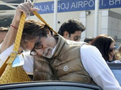 Bachchan Family Arrived Bhopal Without Jaya