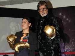 Big B Unveils Autobiography Mary Kom