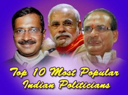 Top 10 Most Popular Faces Of Indian Politics In