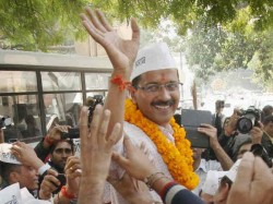 Kejriwal Meet Lg Today Likely Decline His Offer Form Govt Delhi