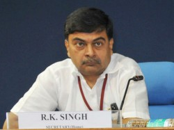 Former Union Home Secretary Rk Singh To Join Bjp