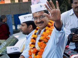 Aap Will Make Govt Delhi Kejriwal Meet Lieutenant Governor Today