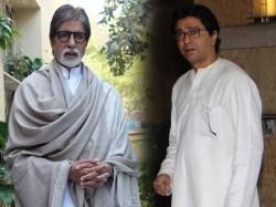 Raj Thackeray Amitabh Bachchan Share Dias Mumbai End 5yr Tiff