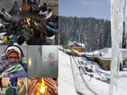 Cold Wave Continues In North India Leh And Kargil Coldest
