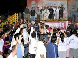 Narendra Modi Flags Off Sabarmati Marathon 20 Thousand People Run