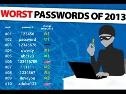 Worst Passwords 2013 Dont Keep Such 25 Kind Password