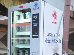 Amul Launches India S First Milk Atm