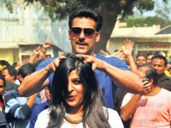 Salman Khan Turns Barber Mission Sapne