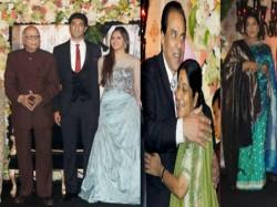 Ahana Deol S Delhi Wedding Reception Pics