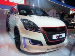 Maruti Swift Volt At Auto Expo
