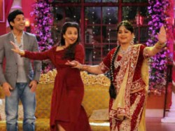 Comedy Nights With Kapil Celebs Attend Bua Wedding Vidya Farhaan