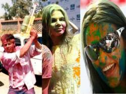 Bollywood Celebrates Holi Pictures