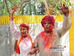 Shabana Azmi Javed Akhtar S Holi Celebration