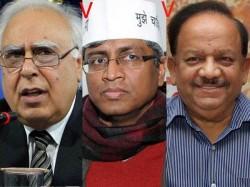 Top Contests 2014 Kapil Sibal Vs Ashutosh Vs Harsh Vardhan Lse