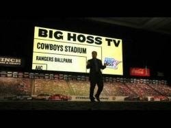 World S Largest Tv Big Hoss Is As Long As Jet