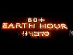 India Other Countries Observe Earth Hour 2014 See Pics