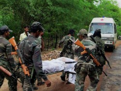 Chhattisgarh Maoists Kill 7 Poll Officials 5 Crpf Jawans Lse