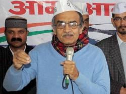 Mp Aap Leader Prashant Bhushan Heckled Indore Lse
