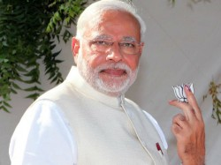 Narendra Modi In Trouble For Displaying Lotus Ec Initiates Action Lse
