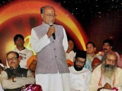 Digvijay Sits Hunger Strike Madhya Pradesh Fight Hail Suffered Farmers