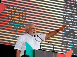 Narendra Modi Addressing Massive Rally Faizabad Uttar Pradesh Lse