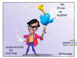 Rajinikanth Twitter Followers Number Reached 2 Lacs