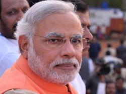 Jaitley Rajnath Meet Modi At Gandhinagar Lse