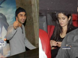 Ranbir Katrina Together At X Men Screening