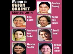 Seven Women Ministers In Narendra Modi Cabinet
