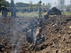 Mig 21 Fighter Aircraft Crashes Kashmir Pilot Dead