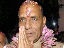 Home Minister Rajnath Singh Meets Rss Leaders To Discuss New Bjp National President