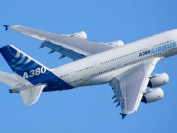 First Commercial Super Jumbo A380 Flight Land Delhi Today