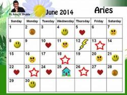 Monthly Predictions June 2014 Astro Calendar