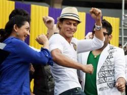 Kkr Shahrukh Khan Celebrate At Eden Despite National Mourning Why