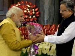 Chhattisgarh Cm Raman Singh Paid Condolence To Narendra Modi By Mistake