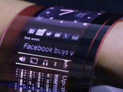 World S First Fully Organic Flexible Oled Will Wrap Round Your Wrist