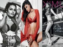 Nathalia Srishti Surveen Bikini Magazines