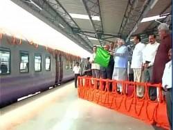 Prime Minister Narendra Modi Inaugurates The Rail Link Katra