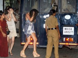 Rave Party Busted In Hyderabad 12 Girls Held