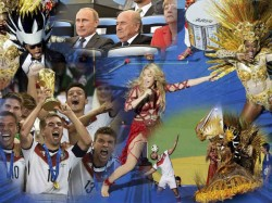 Wc 2014 Germany Beat Argentina 1 0 Win 4th Title