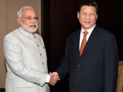 Prime Minister Narendra Modi Meet President China Xi Jinping