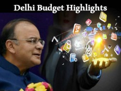 Highlights Of Delhi Budget 2014 Presented By Arun Jaitley