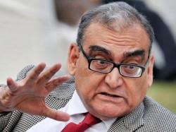 Justice Markandey Katju S Allegations Political Disputes