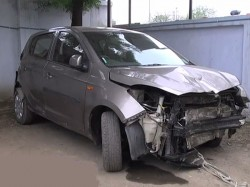 Ahmedabad Car Mishap Three Killed Five Injured Minor Driver Arrested