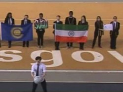Indian Flag Upside Down Commonwealth Games