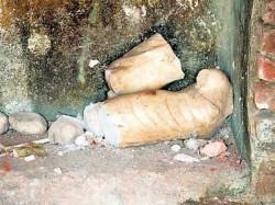 Lord Shiva Mandir Vandalized Idar Town Observes Bandh