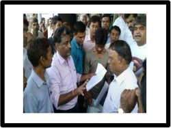 Ado At Gujarat Housing Board Office In Ahmedabad For Failed Draw