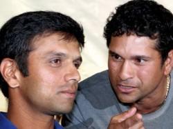 Sachin Tendulkar Didn T Face Single Ball Nets 2003 World Cuup Rahul Dravid