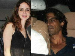 Suzanne Snapped With Arjun Rampal At Abhishek Kapoor S Birthday Bash