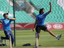 Dhoni Skips Practice Fit Again Ishant Bowls
